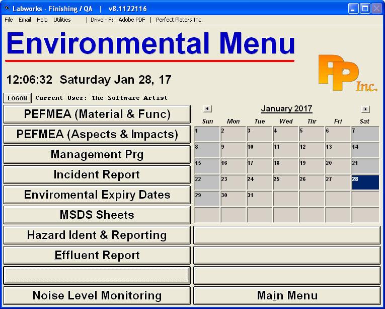 Labworks_Menus_Environmental