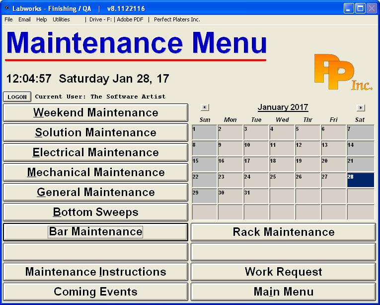 Labworks_Menus_Maintenance