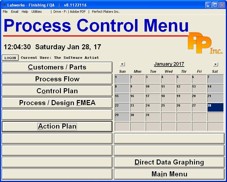 Labworks_Menus_Process_Control